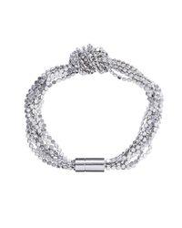 Phase Eight - Metallic Matilda Knot Bracelet - Lyst