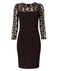 Phase Eight - Multicolor Foil Suzy Dress - Lyst