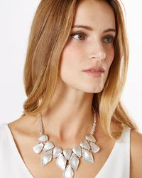 Phase Eight | Metallic Bianca Necklace | Lyst