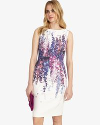 Phase Eight White Jessica Floral Dress