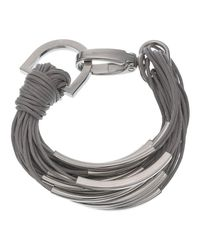 Phase Eight | Gray Tia Multi-strand Bracelet | Lyst