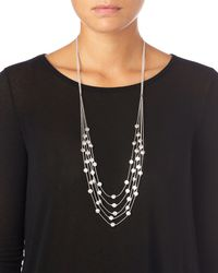 Phase Eight - Metallic Kylie Necklace - Lyst