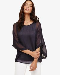 Phase Eight - Multicolor Fabienne Silk Blouse - Lyst