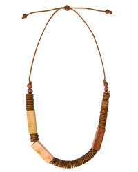 Phase Eight | Multicolor Fay Wooden Necklace | Lyst