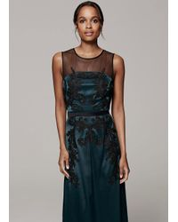 Phase Eight Black Gallia Embellished Full Length Dress
