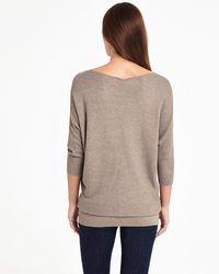 Phase Eight Multicolor Carmelina Batwing Knitted Tunic