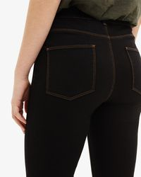 Phase Eight - Black Aida Contrast Sitich Jeans - Lyst