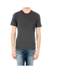 Dolce & Gabbana | Gray Grey Crown Embroidery T-shirt for Men | Lyst
