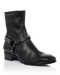 """Philipp Plein - Black Boots """"superstar"""" for Men - Lyst"""