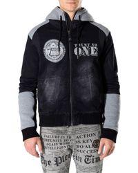 "Philipp Plein - Multicolor Denim Jacket ""state"" for Men - Lyst"