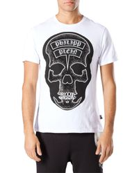 Philipp Plein - White The Dust T-Shirt for Men - Lyst