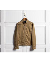 Polo Ralph Lauren Multicolor Cotton Harrington Jacket Lux Beige for men