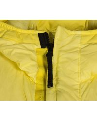 Stone Island Garment Dyed Crinkle Reps Ny Down Jacket Yellow
