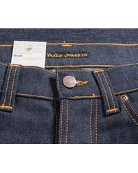 Nudie Jeans - Blue 'tilted Tor' Jeans Dry Pure Navy for Men - Lyst