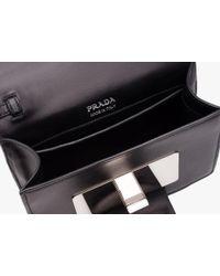 Prada - Black Jewels Ribbon Bag - Lyst