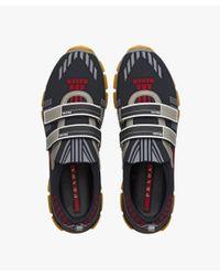 Prada - Black Crossection Sneakers for Men - Lyst