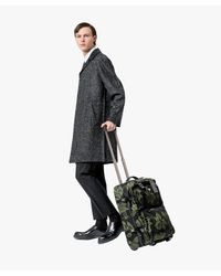Prada - Green Hibiscus Trolley Bag for Men - Lyst