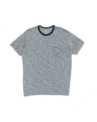 RVCA Gray Double Dip T-shirt for men
