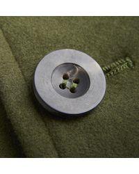 Private White V.c. - Green Moleskin Bomber Jacket for Men - Lyst