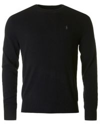 Polo Ralph Lauren - Black Sweater & Cardigan for Men - Lyst