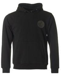 Moschino | Black Regular Fit Zip Through Hooded Top for Men | Lyst