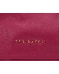 Ted Baker - Multicolor Chain Handle Soft Leather Shoulder Bag - Lyst