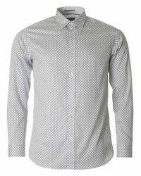 Ted Baker | White Lenons Circle Print Shirt for Men | Lyst