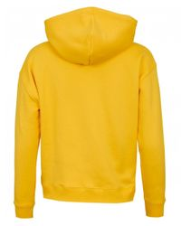 Tommy Hilfiger Yellow Tommy Badge Hoody