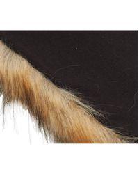 Barbour - Natural Fur Wrap - Lyst