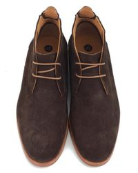 H by Hudson - Brown Mateo Suede Chukka Boots for Men - Lyst
