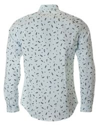 Paul Smith - White Paisley Tailored Fit Shirt for Men - Lyst