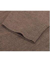 Michael Kors | Brown Merino V Neck Knit for Men | Lyst