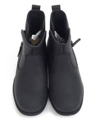 Ugg   Black Lavelle Water Resistant Suede Boots   Lyst