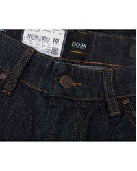 BOSS Blue Maine Regular Fit Jeans for men