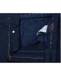 Paul & Shark Blue Cargo Shorts for men