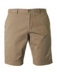 BOSS Black Natural Crigan Tapered Fit Shorts for men
