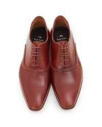Paul Smith Multicolor Starling Ridge Detail Leather Shoes for men