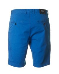 BOSS Blue Crigan Tapered Fit Shorts for men