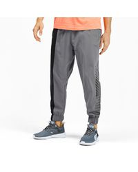 Pantalones de Training Tejidos Collective PUMA de hombre de color Gray