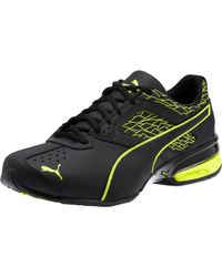 PUMA Black Tazon 6 Fracture Men's Running Shoes for men