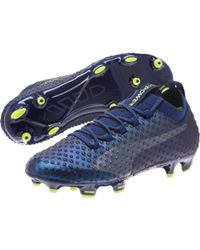 PUMA Blue Evopower Vigor 3d 1 Fg Jr Soccer Cleats for men