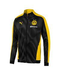 Giacca BVB League di PUMA in Black da Uomo
