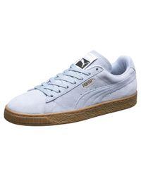 PUMA Suede Classic Gum Sneakers in Blue for Men - Lyst