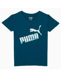PUMA Blue No.1 Logo Girls