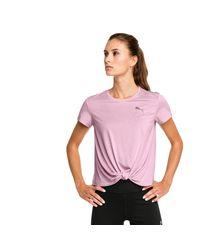 PUMA Turn It Up Short Sleeve Trainingsshirt in het Pink