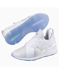 Chaussure Basket Muse Ice PUMA en coloris White