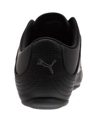PUMA Black Soleil Cat Women's Shoes