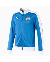 PUMA Manchester City T7 Trainingsjacke in White für Herren