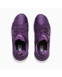 Chaussure Basket Muse Satin En Pointe PUMA en coloris Purple