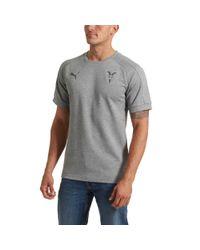 PUMA Gray Chivas Casuals T-shirt for men